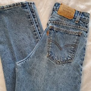 Levi's 550 Mom Jeans. High Waisted.  Sz 29W x 30L.